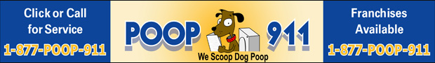 poop911 is a franchise of dog poop removal companies